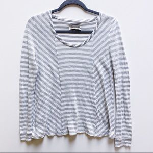Striped Anthropologie Longsleeve Top